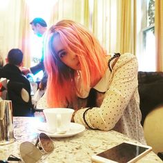 Ashley Benson dyed her hair pink
