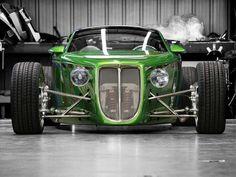 Foose Hemisfear front end. Bugatti, Lamborghini, Ferrari, Kart Cross, Vintage Cars, Antique Cars, Vw Cabrio, Karts, Chip Foose