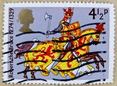 stamp England 4.5p 4 1/2p GB Great Britain