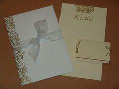 Come realizzare Partecipazioni Matrimonio fai da te, invito, segnaposti ristorante, menu degli sposi- Passo 11