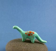 Little Dinosaur - Miniature Polymer Clay Animal