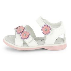 Sandalias descubiertas con flores Infantil niña - Kiabi - 18,00€