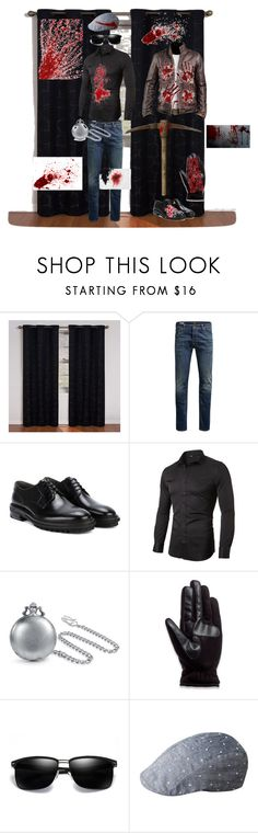 """""""crazed brethren of silent o' death"""" by mhdinsmore-lfo on Polyvore featuring Eclipse, Jack & Jones, Lanvin, Bling Jewelry, Isotoner, kangol, men's fashion and menswear"""