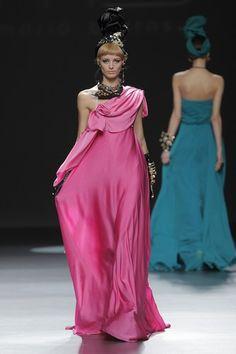 María Barros - Madrid Fashion Week Otoño Invierno 2013-2014