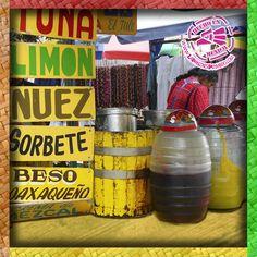 """""""Aguas frescas"""" es el nombre que se le da en México a las bebidas a base de agua, frutas o granos y azucar. Son muy utilizadas en las gastronomía mexicana"""