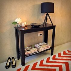 Ordinaire Hallway Entrance Table Console Hall Side Entry Display Desk Stand Wooden  Black In Home U0026 Garden, Furniture, Tables