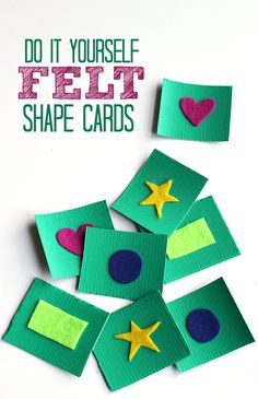 shape cards for preschool by no time for flash cards