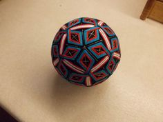 "Beautiful 4"" Handmade Japanese Temari Ball 