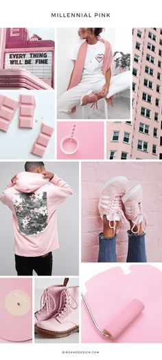 Colour Inspiration: Millennial Pink Fashion + Design