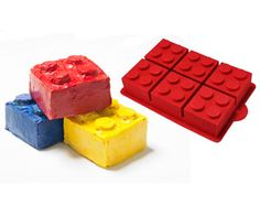 Easy-to-Use Cake Pan for Lego Cakes!  More cool cake pans here: www.parents.com/...