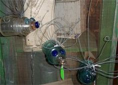 Recycled Insulators : Lightening Bugs