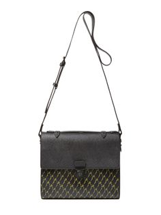 Murray Street Printed Leather Crossbody