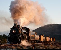 RailPictures.Net Photo: GCRY 4960 Grand Canyon Railway Steam 2-8-2 at Williams, Arizona by John West