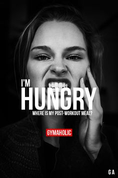 I'm Hungry Where is my post-workout meal!? http://www.gymaholic.co/nutrition/what-you-should-eat-before-after-workout