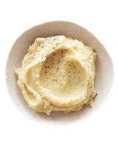 Parsnip Mash: Heart-healthy olive oil stands in for butter.  And parsnips, a less-starchy root vegetable, pack in fewer carbs than spuds.