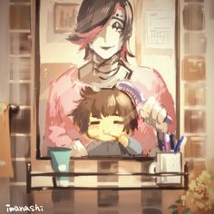 Frisk and Mettaton-This is super cute