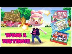 ACNL Welcome amiibo   TODOS LOS VECINOS DE SANRIO EN DESTINO!!