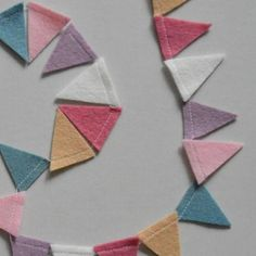 ✨ Crushing over the lovely palette of these garlands! ✨ I wanted to have a play with different colour combinations for my buntings collection, to see how I could evoke different moods. These muted, less saturated tones give a feeling of mellow cheer. Do you like these colours together? #maisonphoenix #badassmaker #madeinedinburgh #edietsy #colormehappy #happyhome #feltbunting #feltgarland #pennants #deskgarland #homedecor #partydecor #workspacedecor #nurserydecor #homestyling Felt Bunting, Felt Garland, Buntings, Colour Combinations, Garlands, Different Colors, Nursery Decor, Cheer, Palette