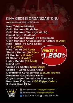 Show Time Kına Paketi 1