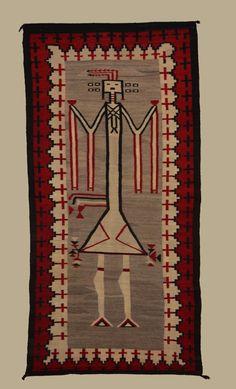 Navajo  Yei Rug circa 1920