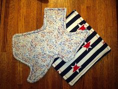 Set of Two Pot Holders by WildThymeCreations on Etsy, $12.00  @Andrea Grisham