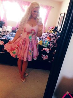 Trisha Paytas: one of my favorite, delusional YouTube trainwrecks to watch. #cantlookaway #growup