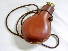 Flask of endless rum Leather Belt Pouch, Leather Armor, Leather Tooling, Leather Backpack, Custom Leather, Vintage Leather, Handmade Leather, Leather Projects, Leather Crafts