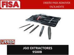 JGO EXTRACTORES 9500B. Diseño para remover facilmente- FERRETERIA INDUSTRIAL -FISA S.A.S Carrera 25 # 17 - 64 Teléfono: 201 05 55 www.fisa.com.co/ Twitter:@FISA_Colombia Facebook: Ferreteria Industrial FISA Colombia