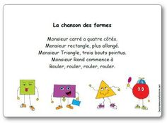 poems for kindergarten French Teaching Resources, Teaching French, Learning French For Kids, Autism Education, Kindergarten Lesson Plans, Kindergarten Library, Kindergarten Poems, Kindergarten Graduation, French Songs