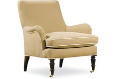 Lee Industries 1029-01 Chair Overall: W30  D34  H35   Inside: W23  D23  H16   Seat Height: 18 Arm Height: 23