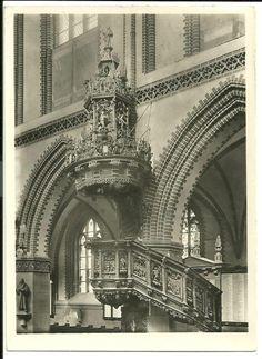 Stolp, Kanzel der Marienkirche