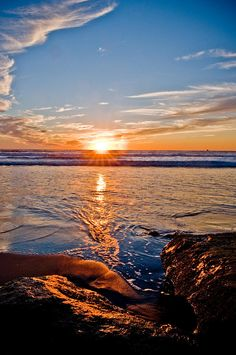 ✯ Sunset at Ocean Beach, CA