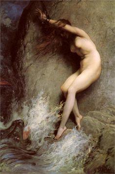 Andromeda - Gustave Dore, 1869