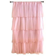 Ruffle Curtains. I would love to have this for my pink room! :)