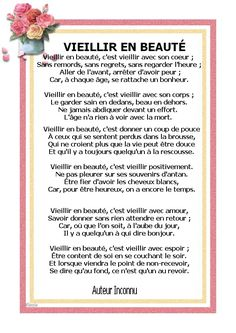 Vieillir en beauté French Expressions, Happy Friendship, Quote Citation, French Quotes, Live Happy, Words Worth, My Mood, Positive Attitude, Positive Affirmations