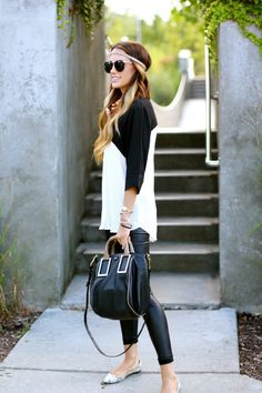 Black and white | Styled Avenue