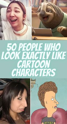 50 People Who Look Exactly Like Cartoon Characters Epic Facts, Funny Facts, Weird Facts, Baby Animals Pictures, Relationship Facts, Trending Today, Cute Comfy Outfits, I Give Up, Crazy People