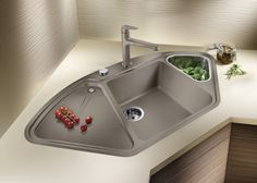 46 Trendy Home Diy Kitchen Link Corner Sink Kitchen, Farmhouse Sink Kitchen, Home Decor Kitchen, Diy Kitchen, Kitchen Sinks, Bathroom Sinks, Bedroom Furniture Redo, Modern Home Furniture, Diy Furniture
