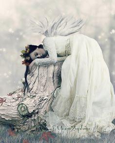 Sleeping through hard times by KatZaphire on DeviantArt