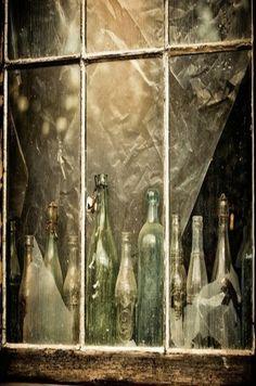 Bottles In The Window