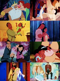 Disney fathers & daughters :)