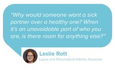 Speaking from experience, lupus and rheumatoid arthritis advocate Leslie Rott shares her best advice on dating with chronic illness on the Mango Health Blog.