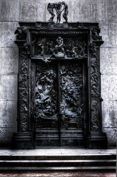 blackpaint20:  Auguste Rodin, The Gates of Hell