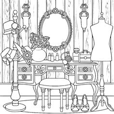 House Colouring Pages, Fall Coloring Pages, Coloring Apps, Cartoon Coloring Pages, Adult Coloring Pages, Coloring Books, Printable Coloring Sheets, Cross Stitch Patterns, Embroidery Designs