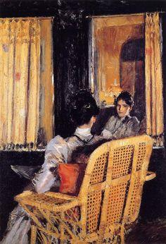 susanzweig:  william merritt chase, 1893