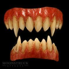 Fire Breath -- Korrigan Demon Teeth *Sharpened Canines*