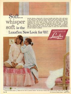 Luxaflex ad from The Australian Women's Weekly - August 26, 1964