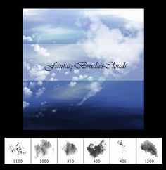 Fantasy Cloud Brushes