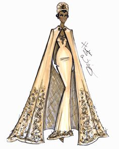 Hayden Williams Fashion Illustrations | Hayden Williams Haute Couture SS14 pt4