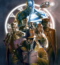 On Christmas Day Bleeding Cool posted art from the upcoming Watchmen prequels from DC Comics - and we received a cease and desist note from DC Comics on Comic Book Characters, Comic Book Heroes, Comic Character, Comic Books Art, Comic Art, Marvel Vs, Marvel Comics, Arte Dc Comics, Dc Comics Art